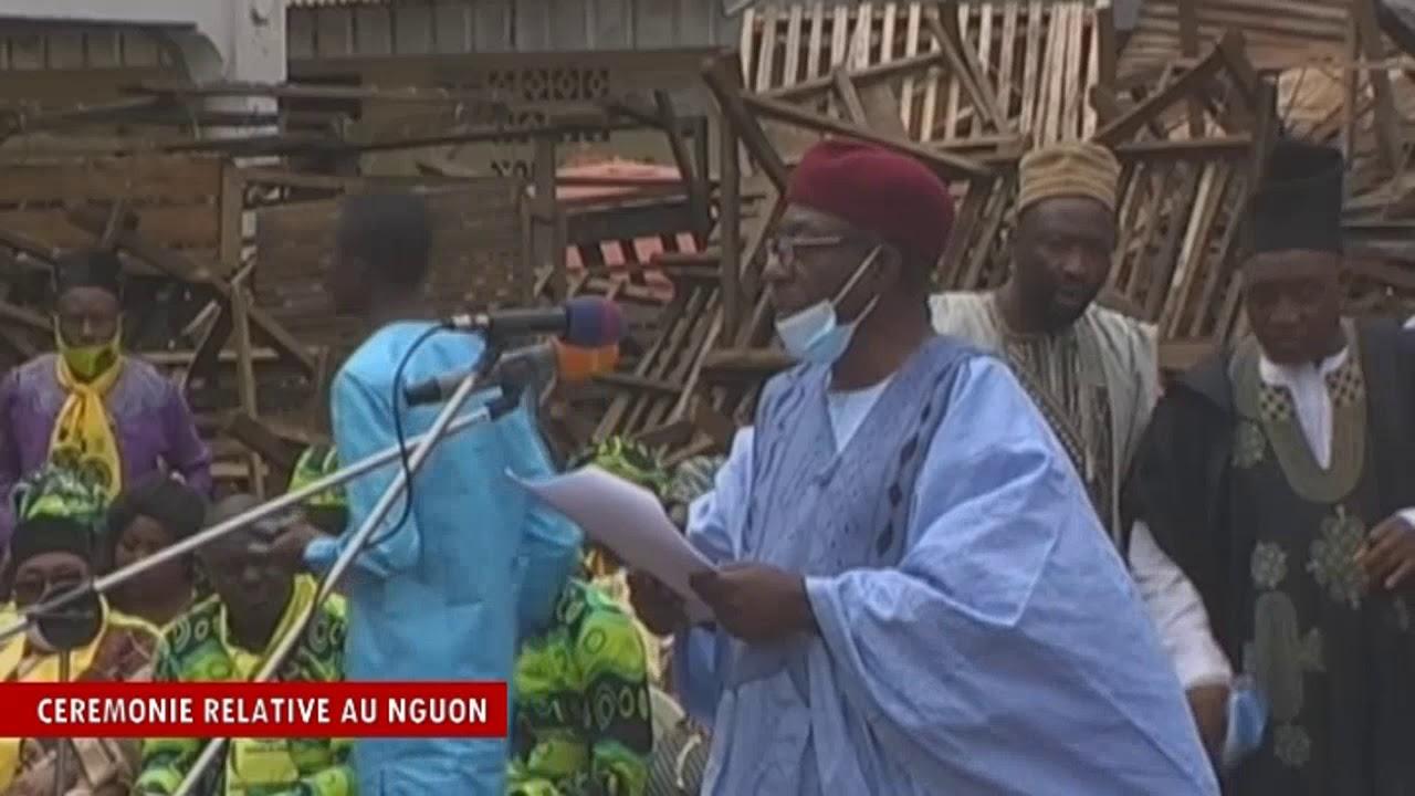 Cérémonie Relative Au Nguon, Foumban, Le 27 Octobre 2020 A La Cour D'apparat Du Royaume Bamoun