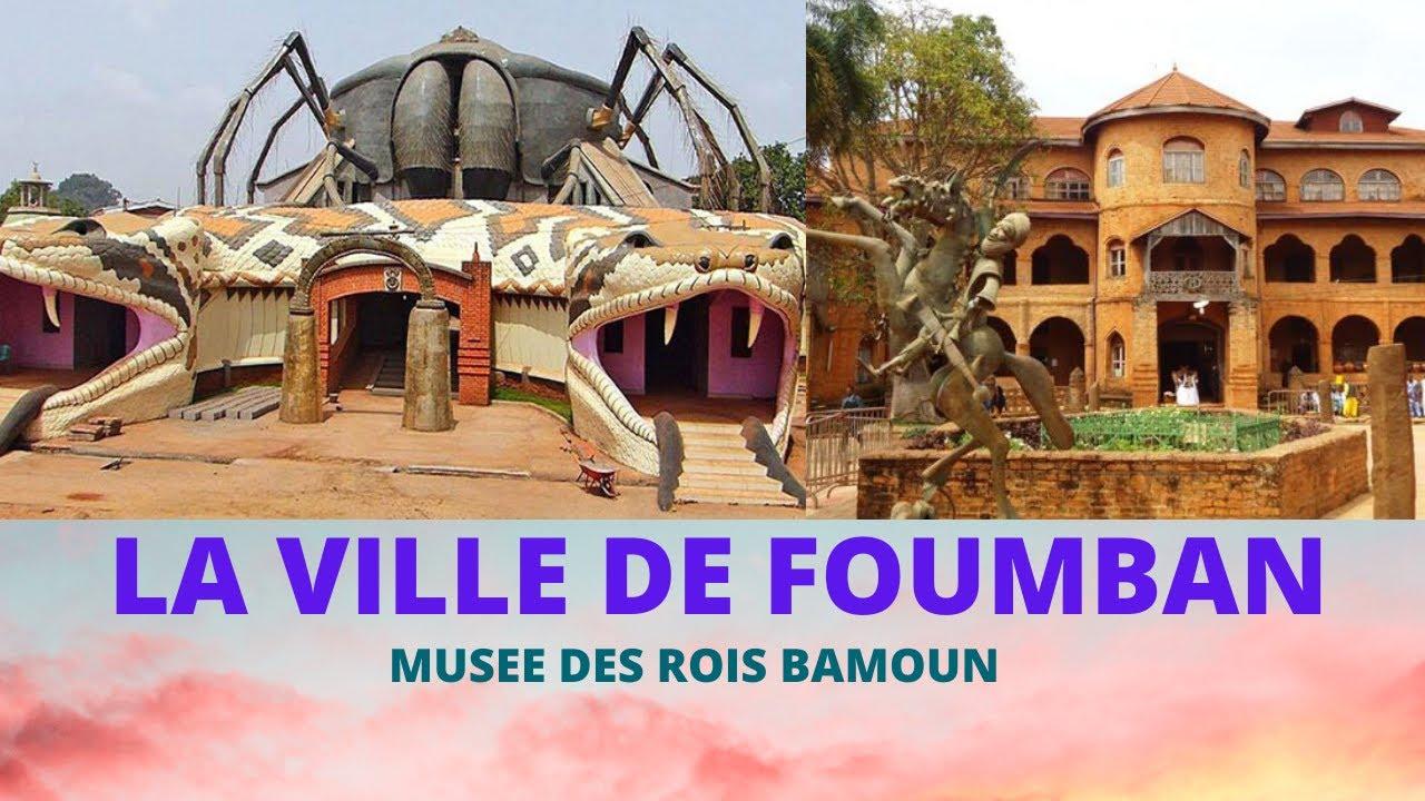 Ville de Foumban, Musée des Rois Bamoun, Cameroun