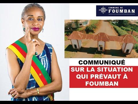 Communiqué sur la situation qui prévaut à Foumban