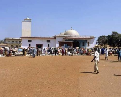 mosquée centrale de foumban
