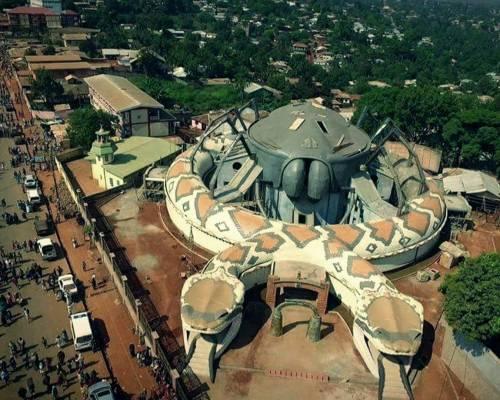 musée royal de Foumban au Cameroun