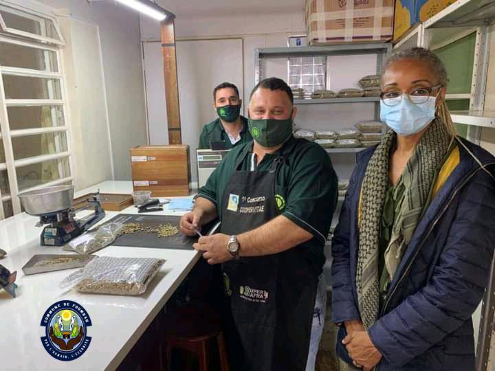 Mission Économique de la Présidente du Syndicat des Communes du Noun au Brésil