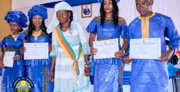 Education: Remise des Attestations Professionnelles aux Lauréats du CMDPJ NOUN