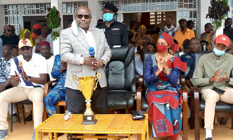 Sport: Finale de la Coupe du Cameroun de Boxe à Foumban