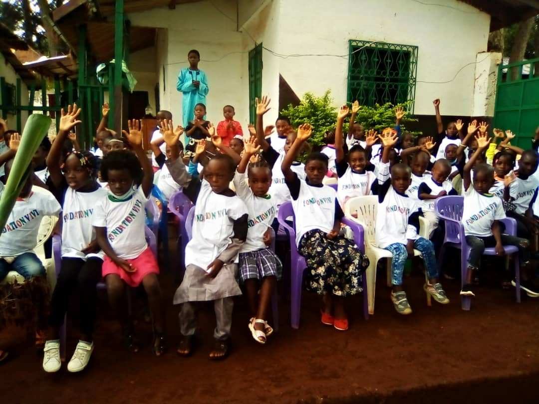 Fin de Vacance à la Fondation ViVi à Foumban